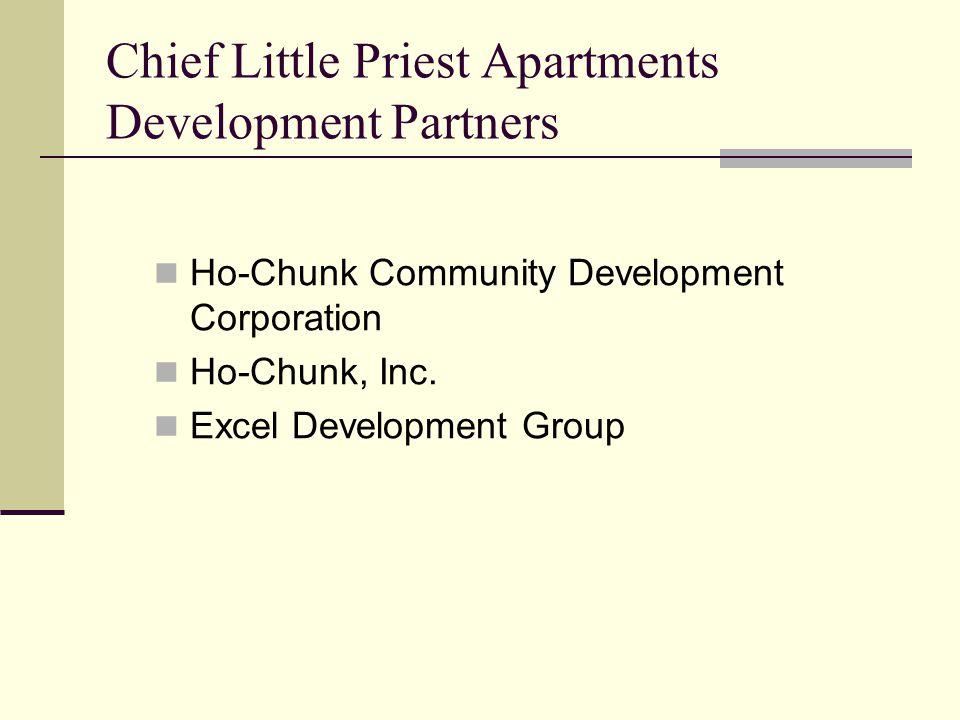 Chief Little Priest Apartments Development Partners Ho-Chunk Community Development Corporation Ho-Chunk, Inc. Excel Development Group