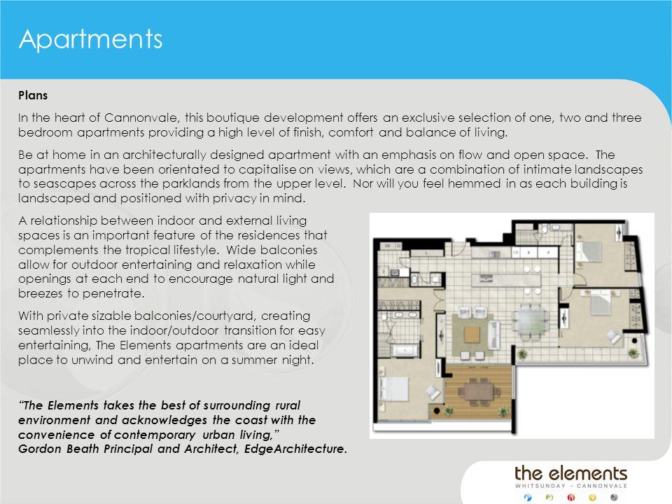 Plans Living Area84.60m ² Balcony16.05m²