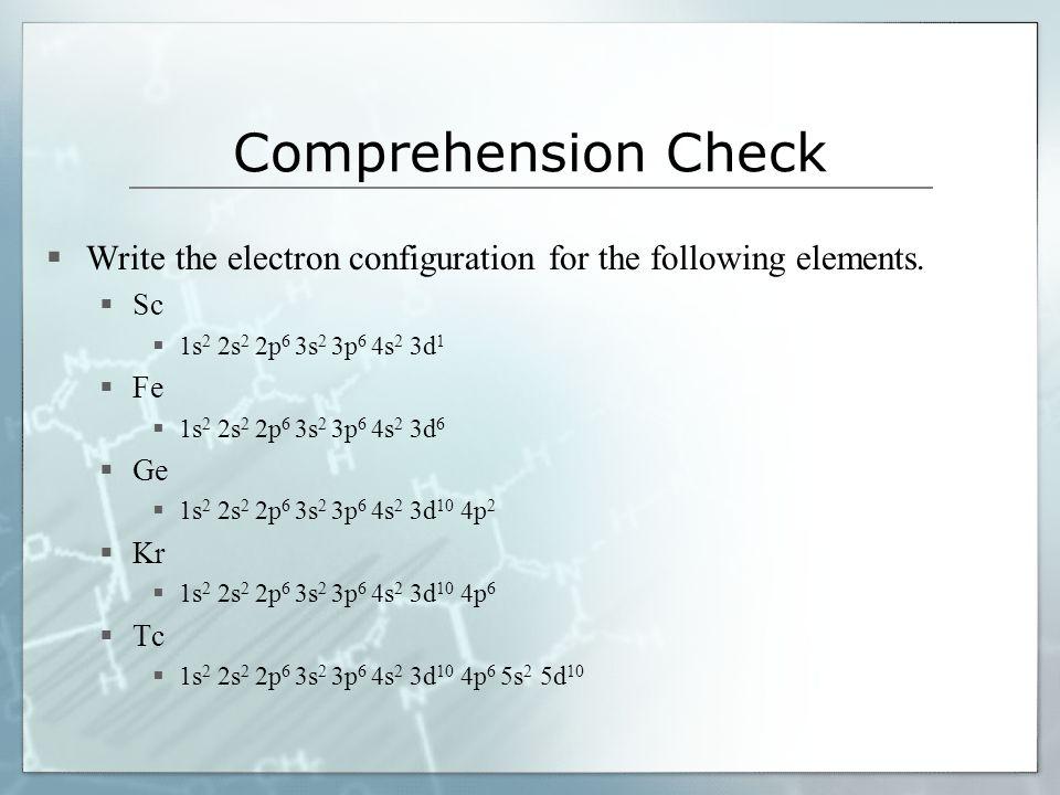 essay on electron configuration