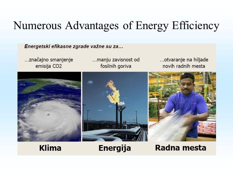 Numerous Advantages of Energy Efficiency
