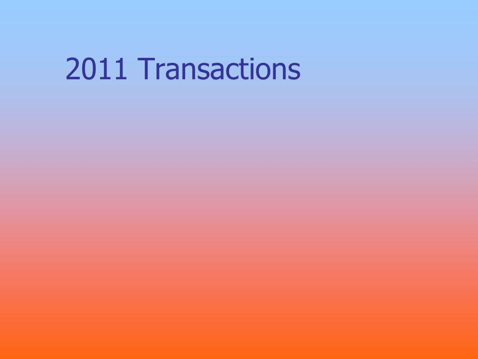 2011 Transactions