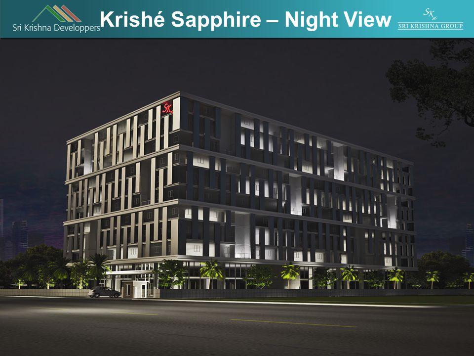 Krishé Sapphire – Night View