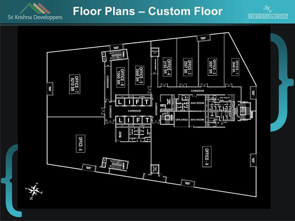 Floor Plans – Custom Floor