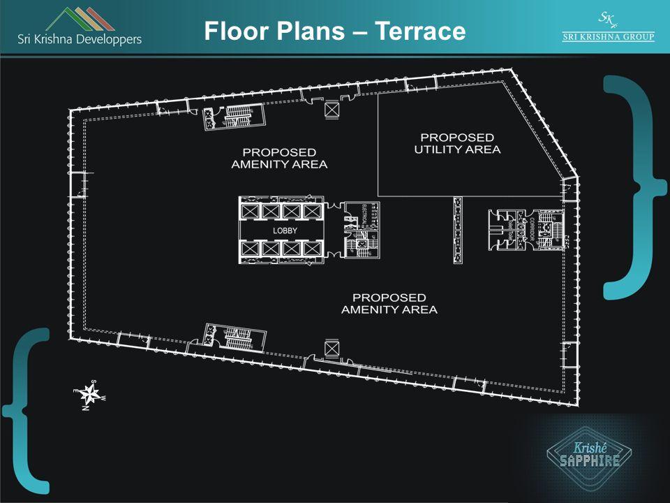 Floor Plans – Terrace