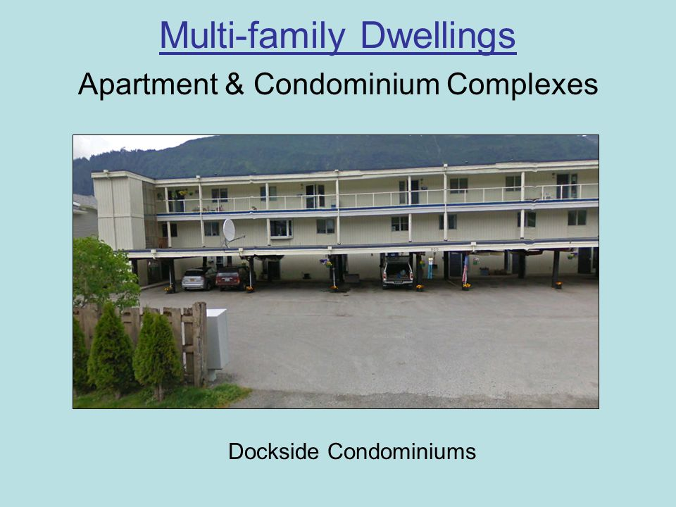 Multi-family Dwellings Apartment & Condominium Complexes Dockside Condominiums