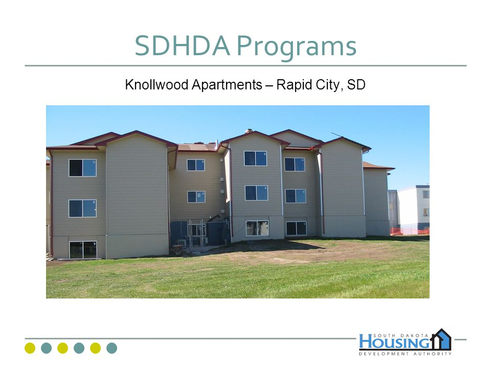 SDHDA Programs Knollwood Apartments – Rapid City, SD
