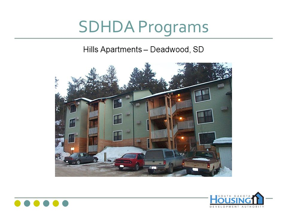 SDHDA Programs Hills Apartments – Deadwood, SD