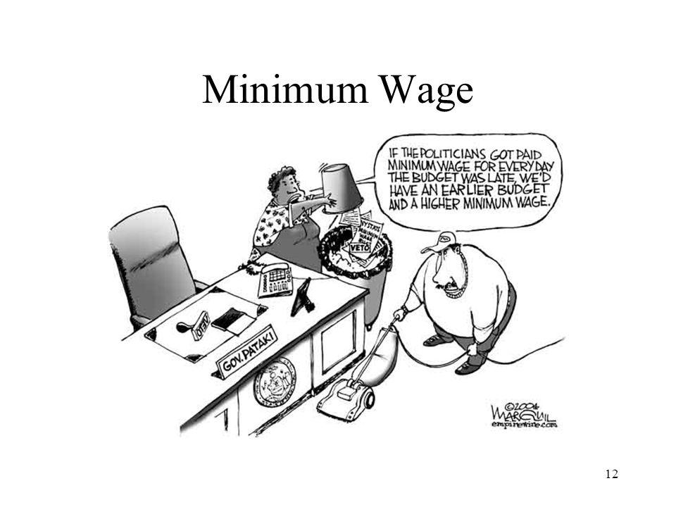 12 Minimum Wage