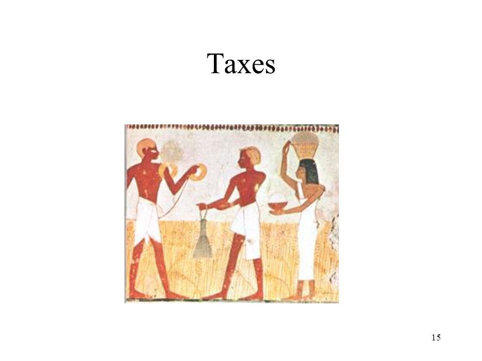 15 Taxes