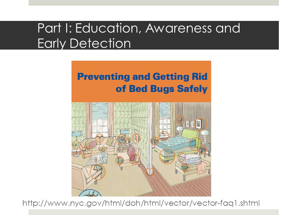 Part I: Education, Awareness and Early Detection http://www.nyc.gov/html/doh/html/vector/vector-faq1.shtml