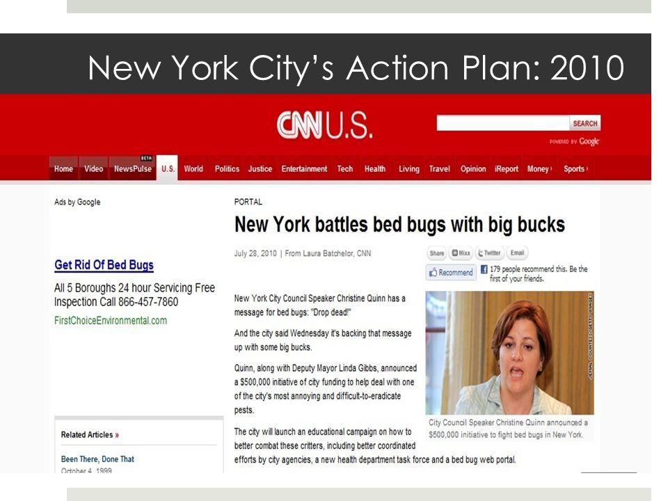 New York Citys Action Plan: 2010