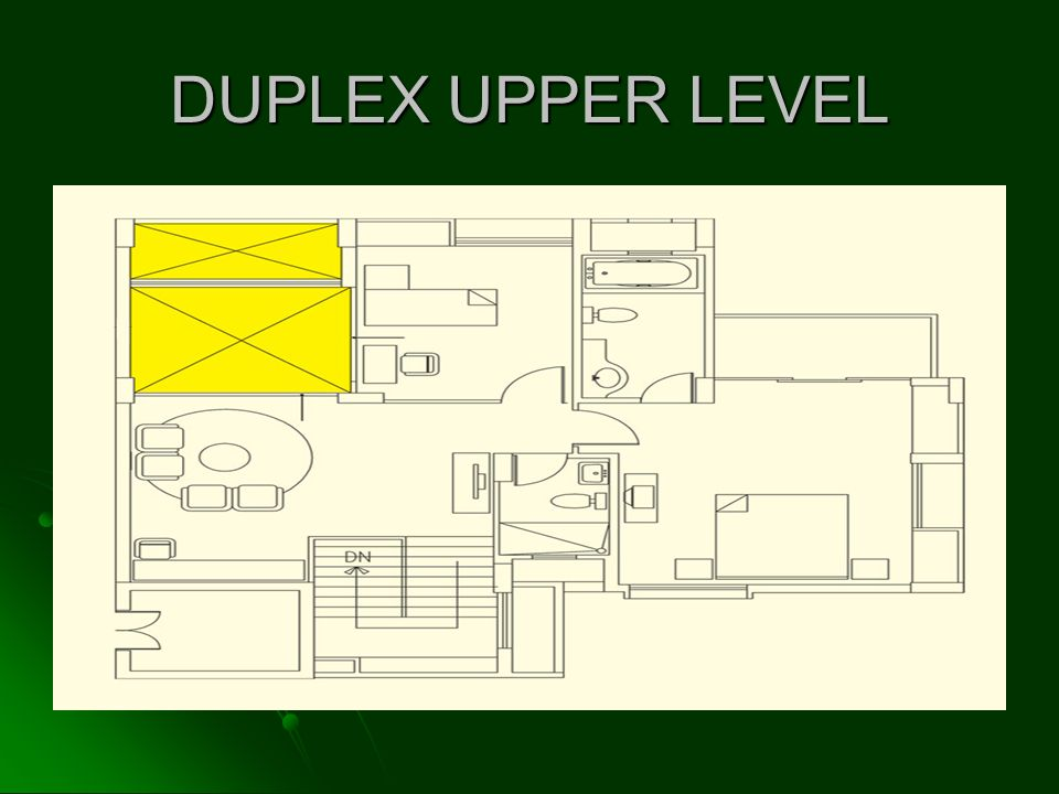 DUPLEX UPPER LEVEL