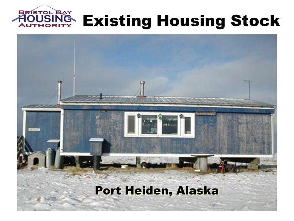 Existing Housing Stock Port Heiden, Alaska