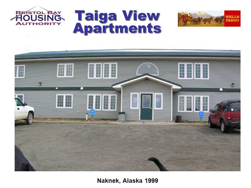 Taiga View Apartments Naknek, Alaska 1999