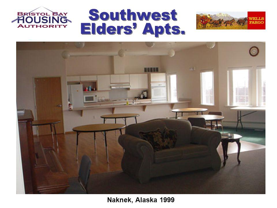 Southwest Elders Apts. Naknek, Alaska 1999