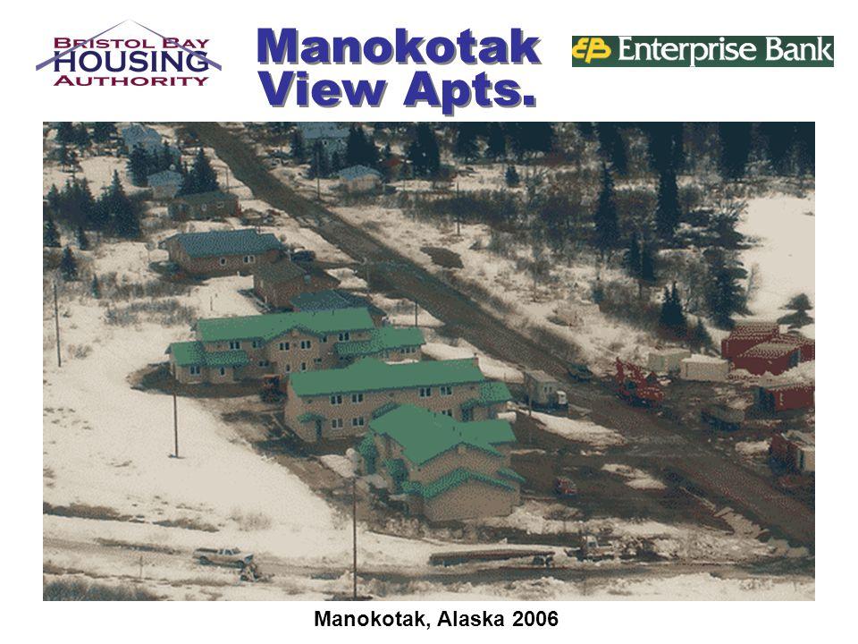 Manokotak View Apts. Manokotak, Alaska 2006