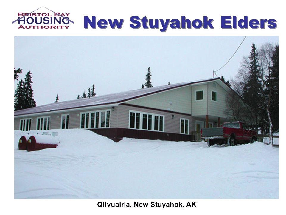 New Stuyahok Elders Qiivualria, New Stuyahok, AK