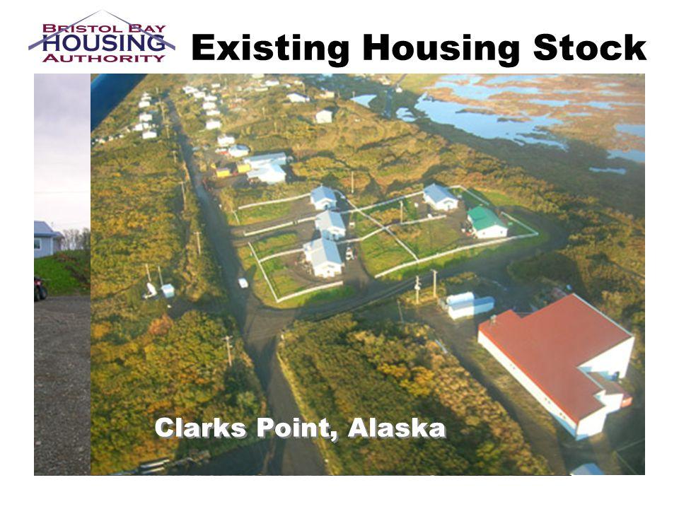 Existing Housing Stock Clarks Point, Alaska