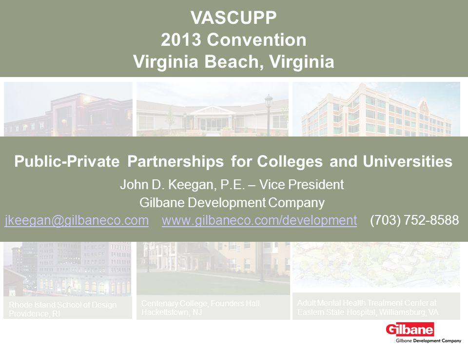 VASCUPP 2013 Convention Virginia Beach, Virginia Adult Mental Health Treatment Center at Eastern State Hospital, Williamsburg, VA Houston Independent