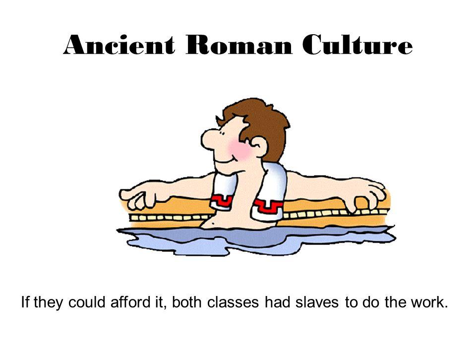 Ancient Roman Culture The End