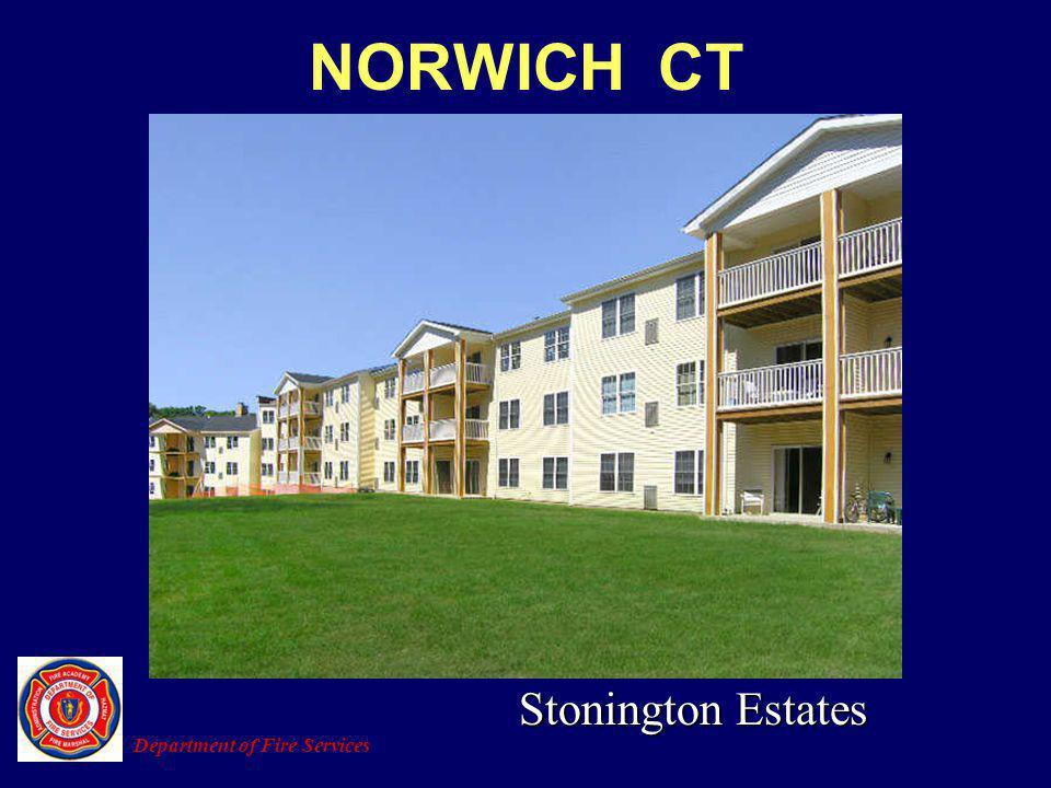 NORWICH CT Stonington Estates Department of Fire Services