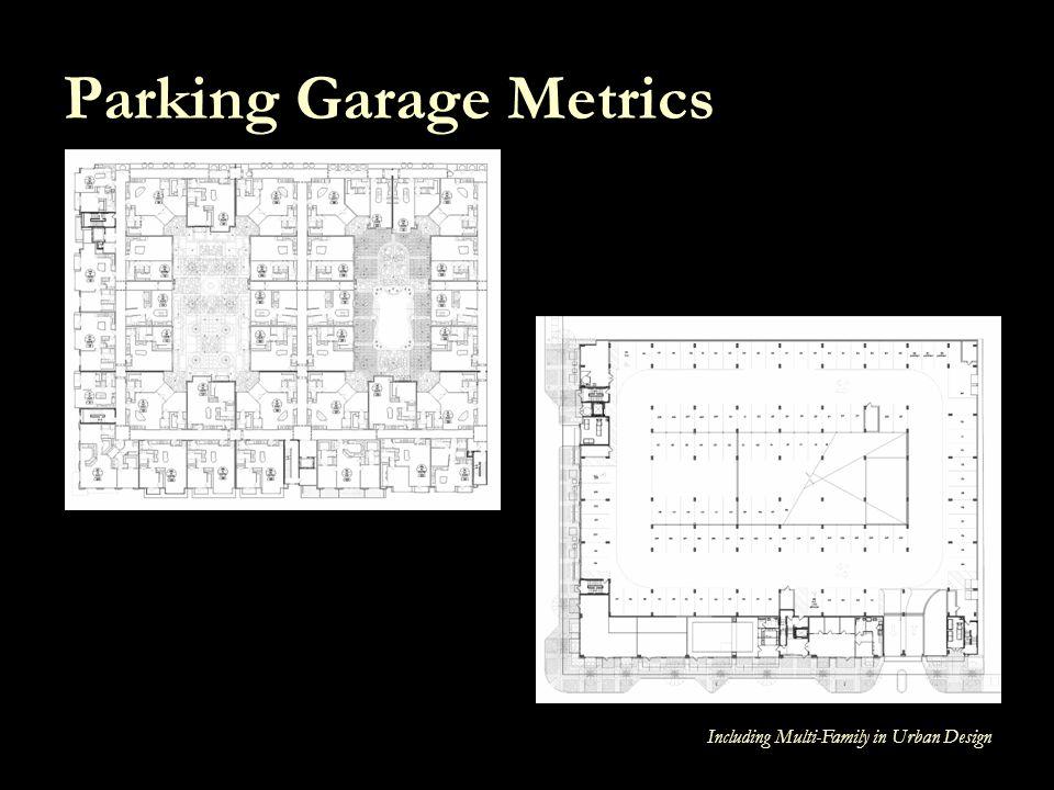 Including Multi-Family in Urban Design Parking Garage Metrics