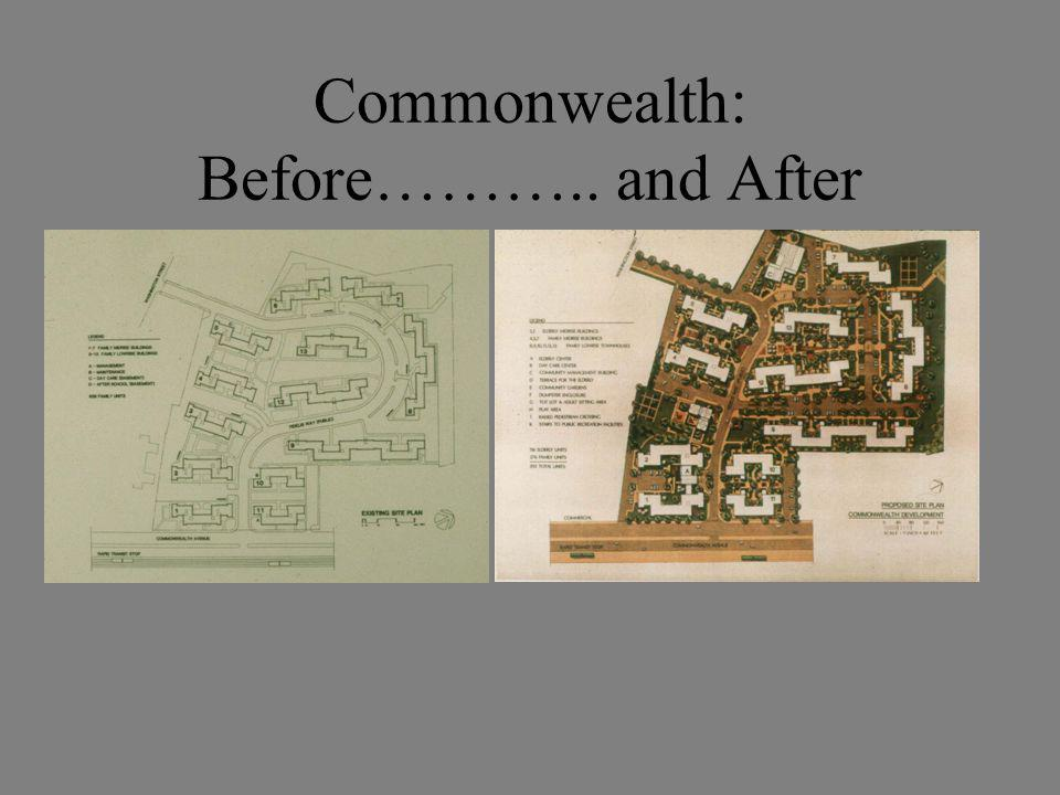 Commonwealth: Before……….. and After