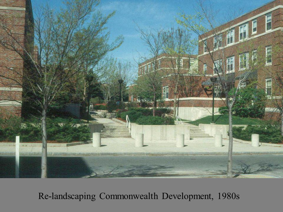 Re-landscaping Commonwealth Development, 1980s