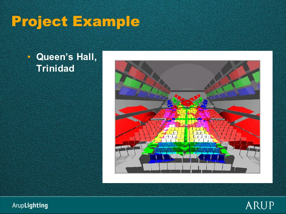 Project Example Queens Hall, Trinidad