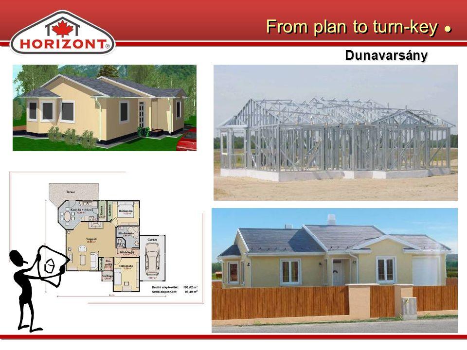 From plan to turn-key Dunavarsány