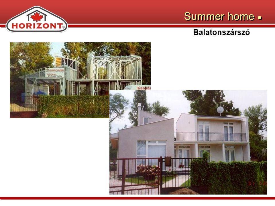 Balatonszárszó Summer home