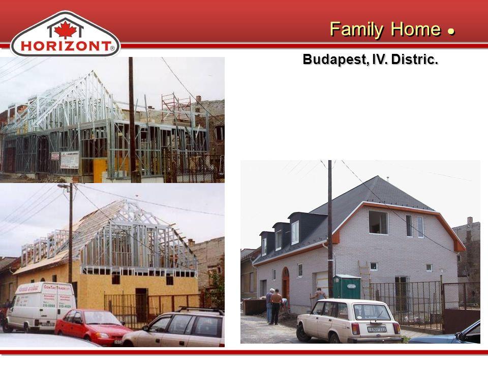Budapest, IV. Distric. Family Home