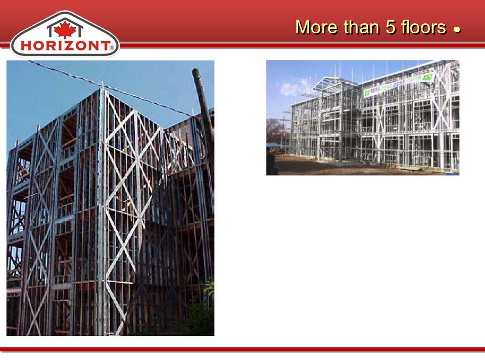 More than 5 floors