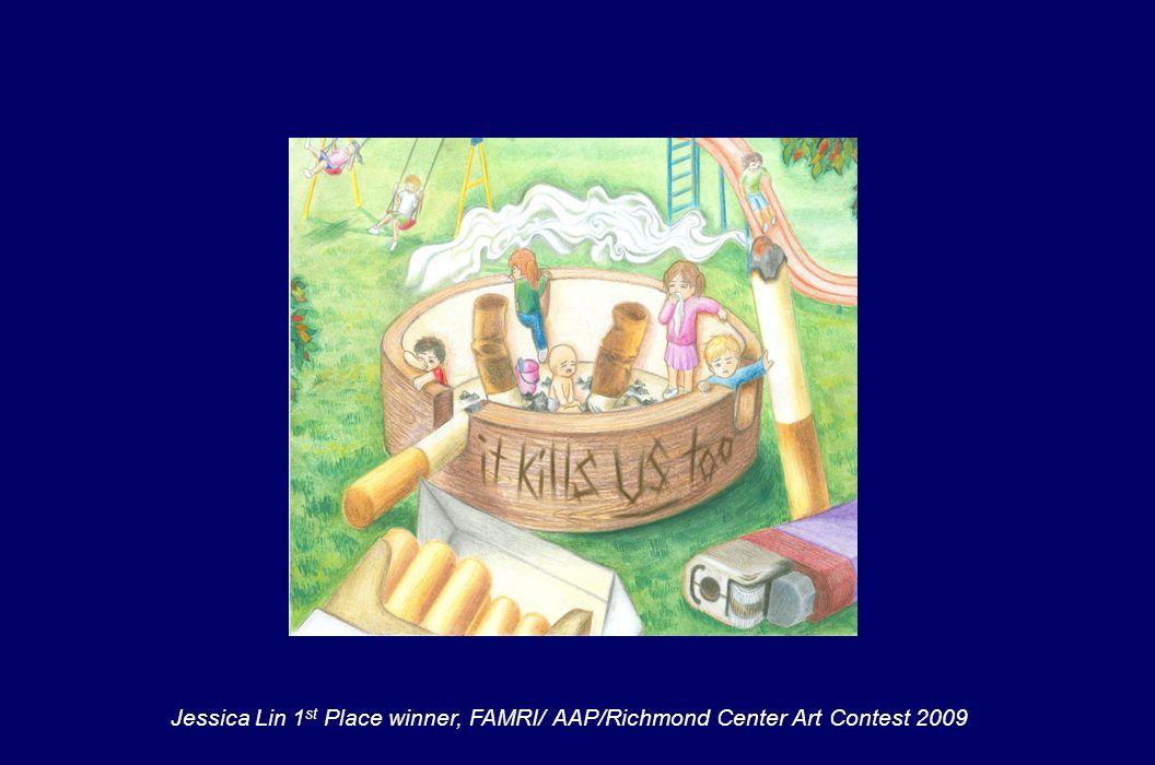 Jessica Lin 1 st Place winner, FAMRI/ AAP/Richmond Center Art Contest 2009