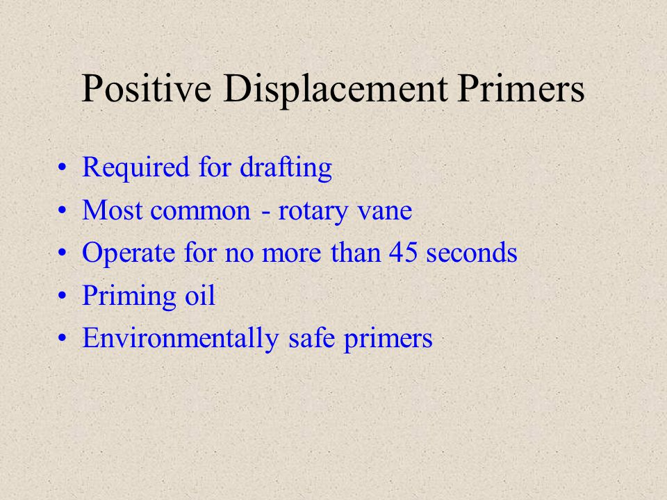 Drafting Do not engage pressure governor until flowing water If pressure governor is on prior to obtaining prime and apparatus is in pump gear, will sense increase in rpm without corresponding increase in pressure and return engine to idle.