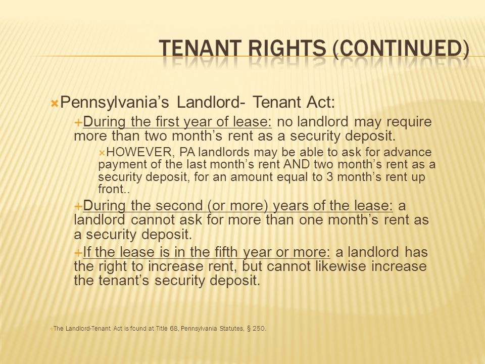 The landlord s duties are not only to his or her tenants, but also to the tenants visitors.