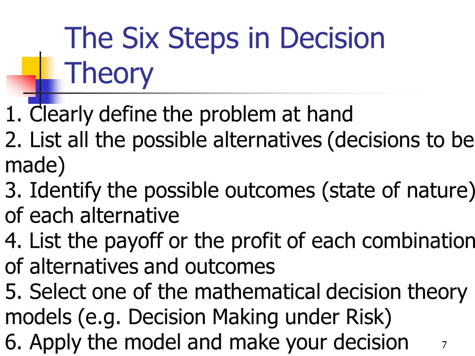 ADM2302 ~ Rim Jaber38 How to compute the EP Start with the final outcomes(payoffs) and work backward through the decision tree towards node 1 EP of the outcomes is computed at each probability node
