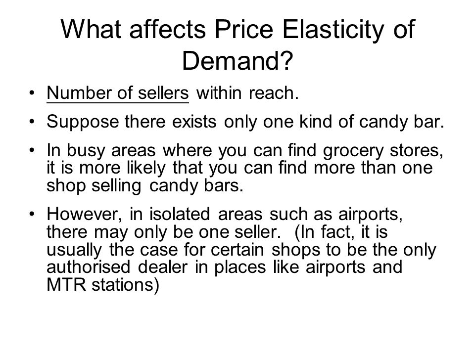 In other words, one will find it difficult to locate an alternative seller of a certain goods (e.g.