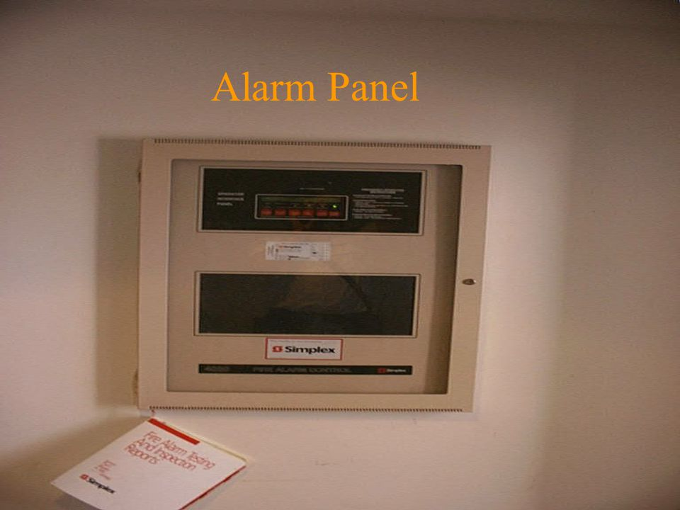Gas S/O Knox Box Alarm Panel