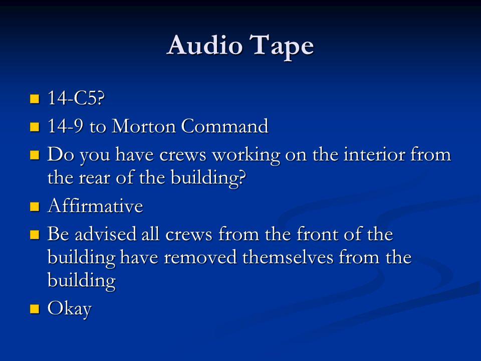 Audio Tape 14-C5. 14-C5.
