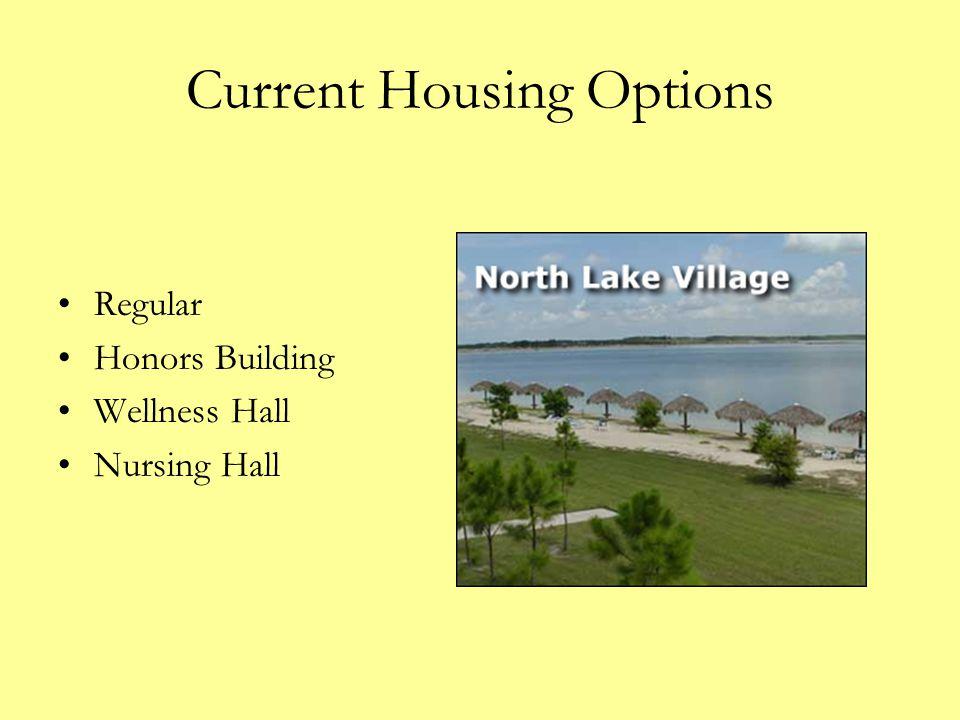 Current Housing Options Regular Honors Building Wellness Hall Nursing Hall