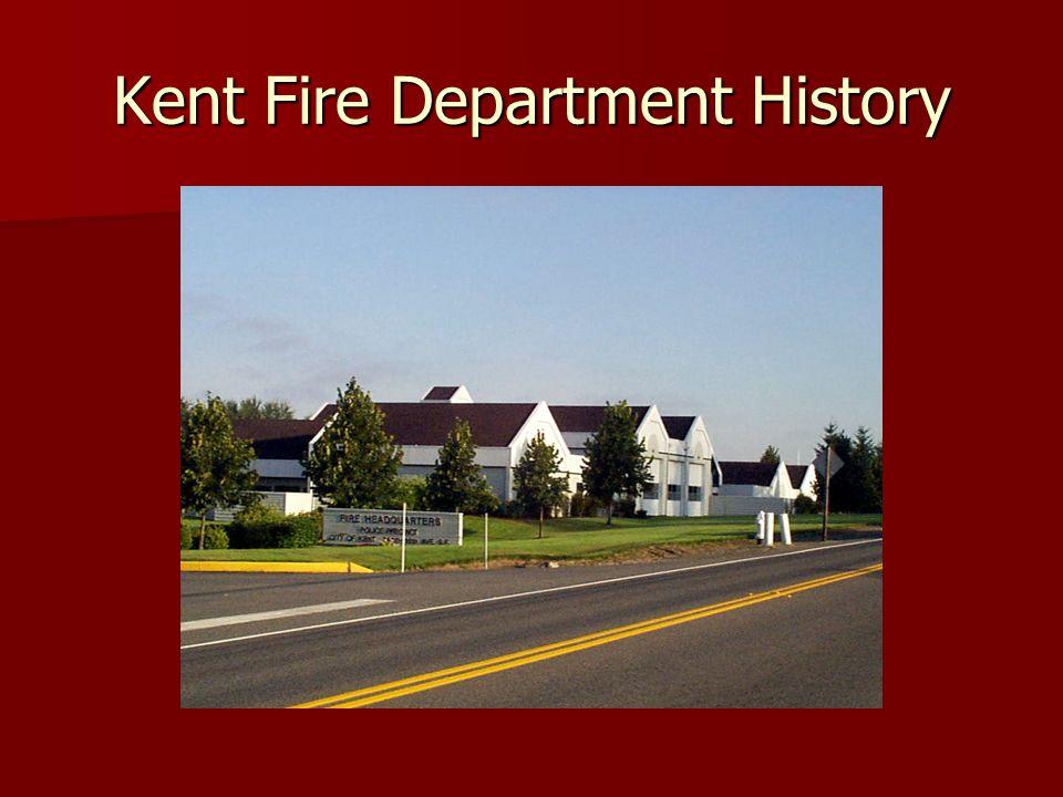 1892 The beginning of the Kent Fire Department as an informal Department.
