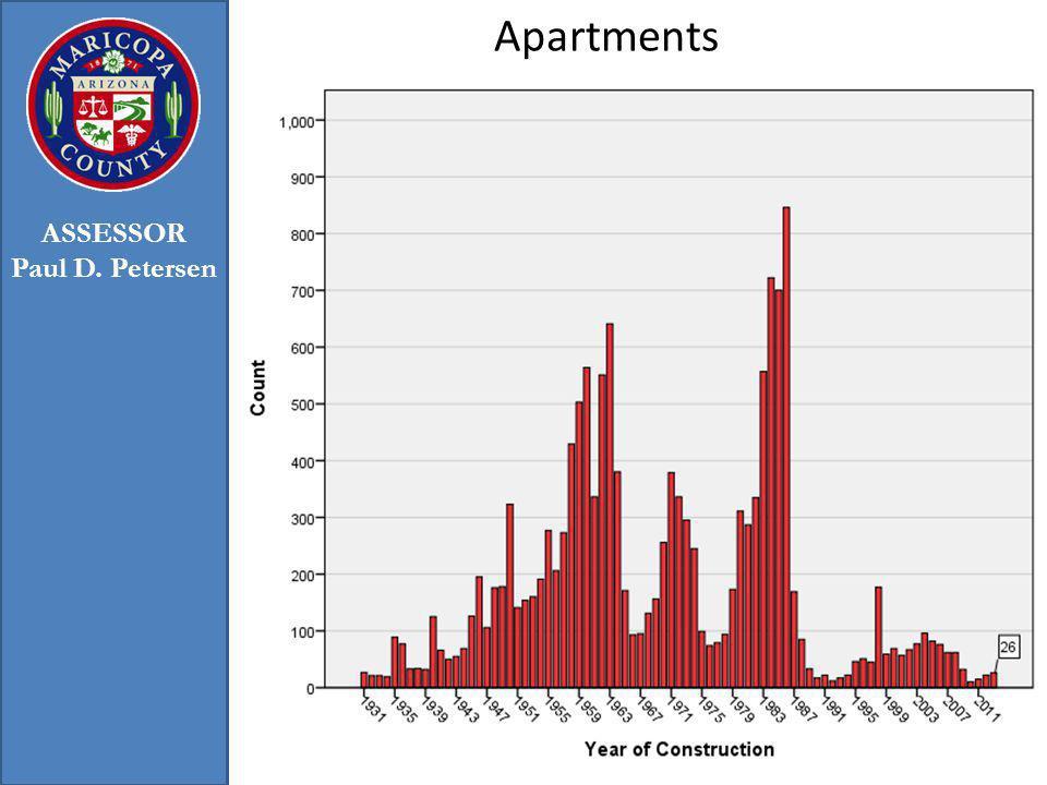 Apartments 35 ASSESSOR Paul D. Petersen