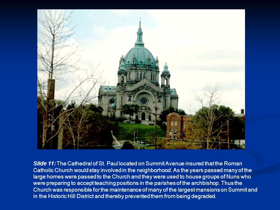 Slide 11: The Cathedral of St.
