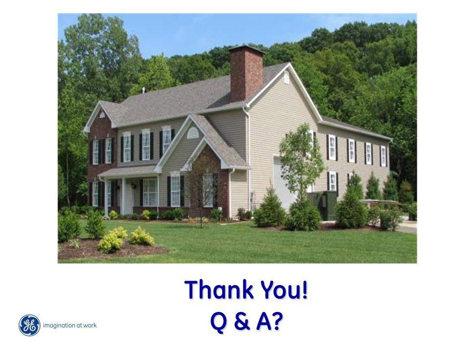 Thank You! Q & A Thank You! Q & A