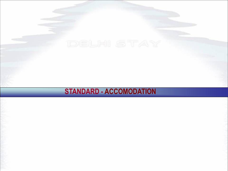 STANDARD - ACCOMODATION