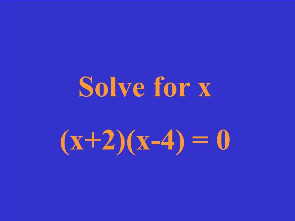 X = 2 (2, 12)