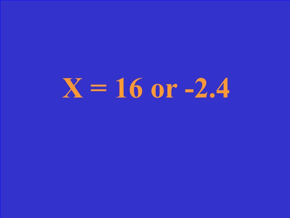 Solve: 5x 2 – 68x = 192