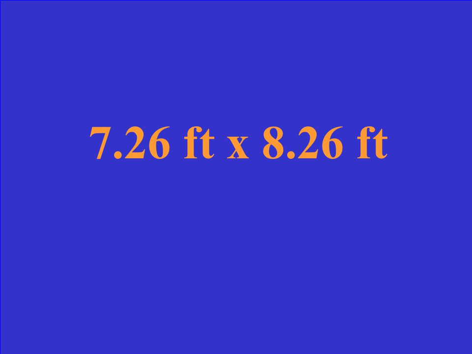 Suppose a rectangle has an area of 60 ft 2 and dimensions x and (x + 1).