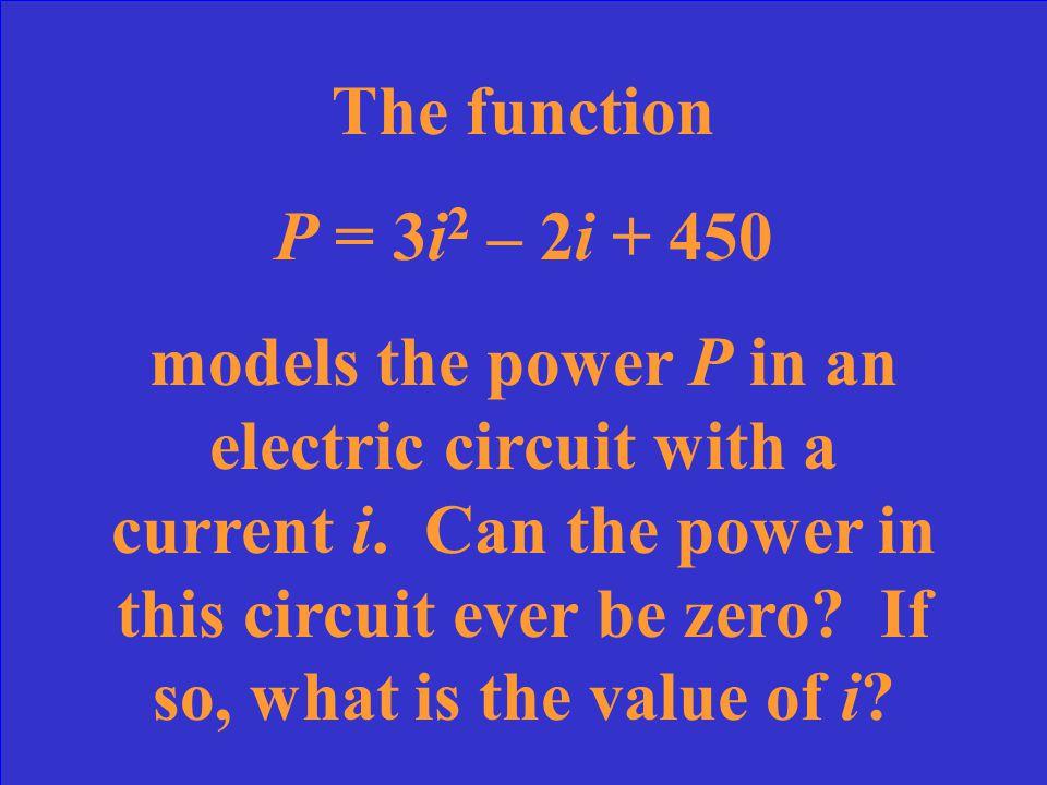 2 (discriminant = 16)